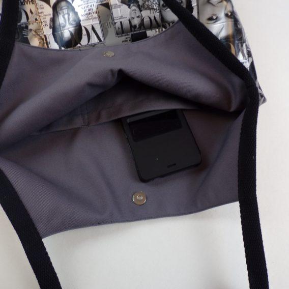 intérieur sac